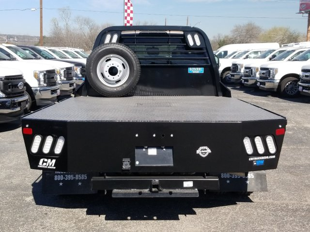 2020 Ford F-350 Crew Cab DRW 4x4, CM Truck Beds Flatbed #TEC52652 - photo 5