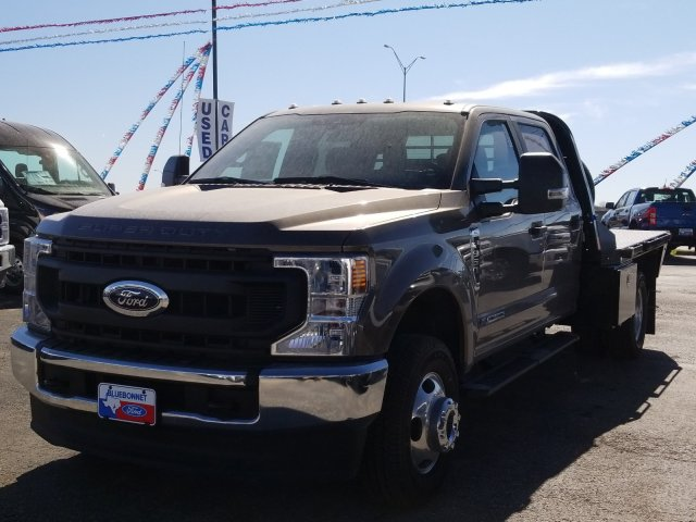 2020 Ford F-350 Crew Cab DRW 4x4, CM Truck Beds Flatbed #TEC52652 - photo 7