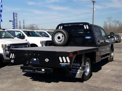 2020 Ford F-350 Crew Cab DRW 4x4, CM Truck Beds Flatbed #TEC52652 - photo 1