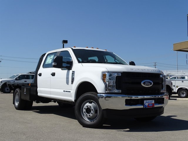 2018 F-350 Crew Cab DRW 4x4,  Cadet Flatbed #TEC57024 - photo 3