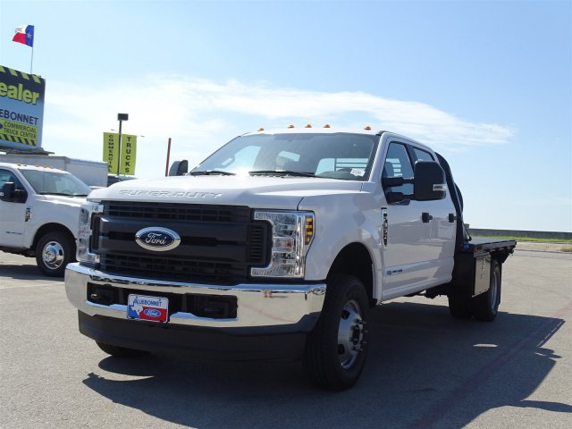 2018 F-350 Crew Cab DRW 4x4,  Cadet Flatbed #TEC57024 - photo 8