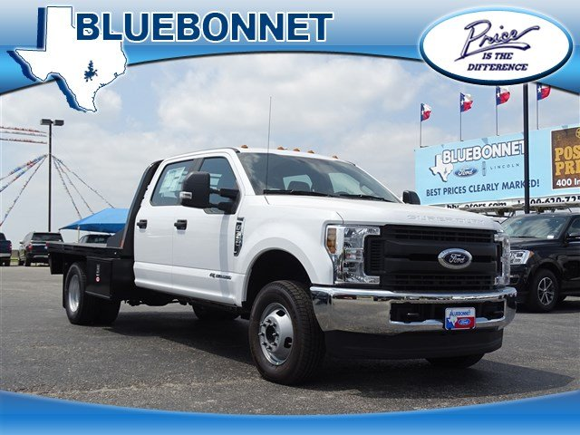 2018 F-350 Crew Cab DRW 4x4,  Flatbed #TEC57025 - photo 1