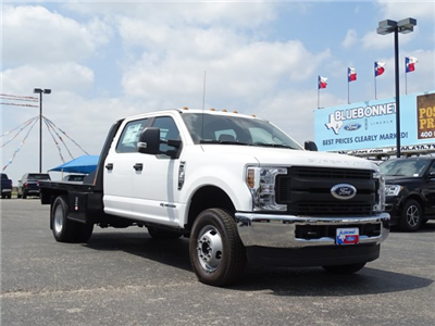 2018 F-350 Crew Cab DRW 4x4,  Flatbed #TEC57025 - photo 3