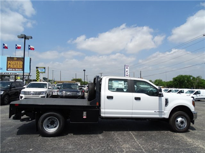 2018 F-350 Crew Cab DRW 4x4,  Flatbed #TEC57025 - photo 4