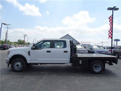 2018 F-350 Crew Cab DRW 4x4,  Flatbed #TEC57025 - photo 7