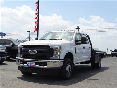 2018 F-350 Crew Cab DRW 4x4,  Flatbed #TEC57025 - photo 8