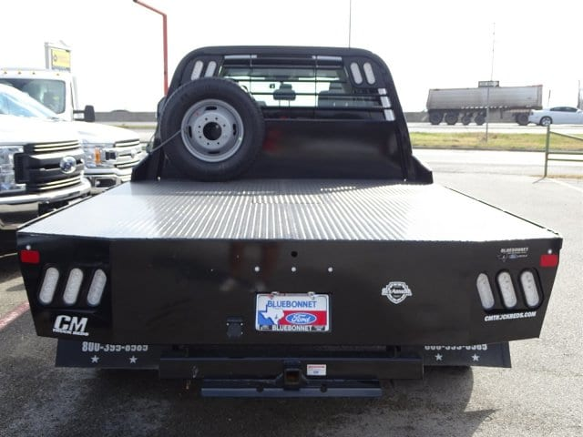 2019 F-350 Crew Cab DRW 4x4,  CM Truck Beds Flatbed #TEC58157 - photo 4
