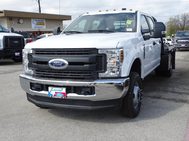 2019 F-350 Crew Cab DRW 4x4,  CM Truck Beds Flatbed #TEC58157 - photo 6