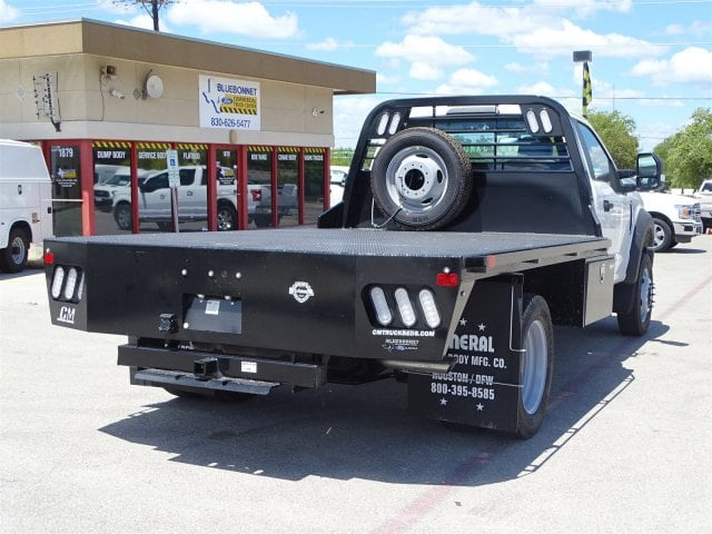 2018 F-550 Regular Cab DRW 4x2,  CM Truck Beds RD Model Flatbed #TEC70659 - photo 2