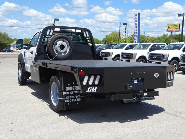 2018 F-550 Regular Cab DRW 4x2,  CM Truck Beds Flatbed #TEC70659 - photo 5