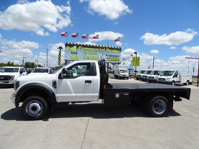 2018 F-550 Regular Cab DRW 4x2,  CM Truck Beds Flatbed #TEC70659 - photo 6