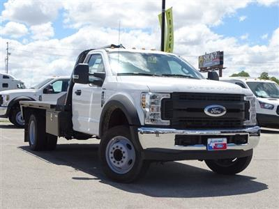 2018 F-550 Regular Cab DRW 4x2,  CM Truck Beds RD Model Flatbed #TEC70659 - photo 1