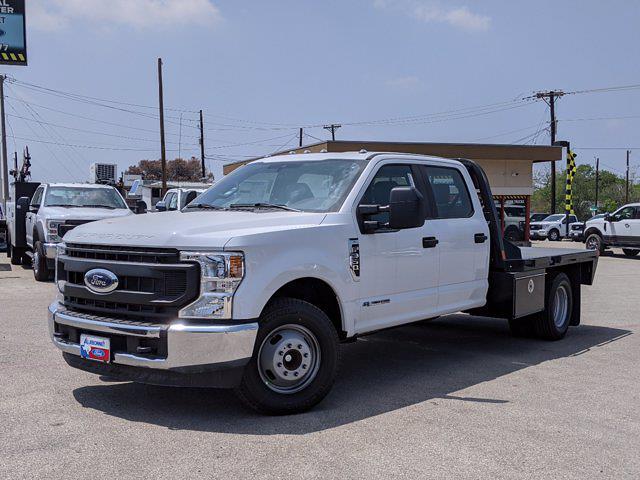 2021 Ford F-350 Crew Cab DRW 4x2, CM Truck Beds Platform Body #TEC83005 - photo 1