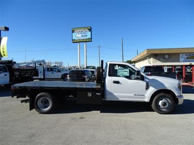 2019 F-350 Regular Cab DRW 4x2,  Knapheide PGNB Gooseneck Flatbed #TED03409 - photo 3