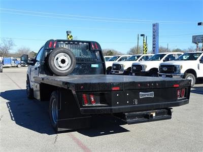 2019 F-350 Regular Cab DRW 4x2,  Knapheide PGNB Gooseneck Flatbed #TED03409 - photo 5