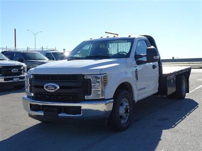 2019 F-350 Regular Cab DRW 4x2,  Knapheide PGNB Gooseneck Flatbed #TED03409 - photo 6