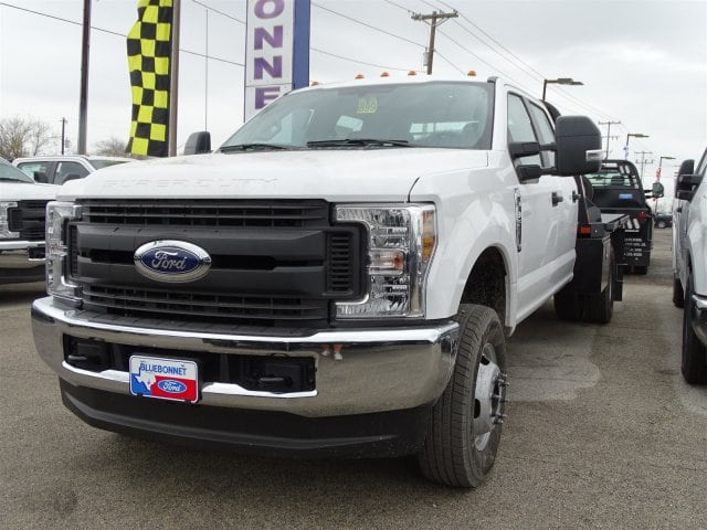 2019 F-350 Crew Cab DRW 4x4,  CM Truck Beds Platform Body #TED03437 - photo 5