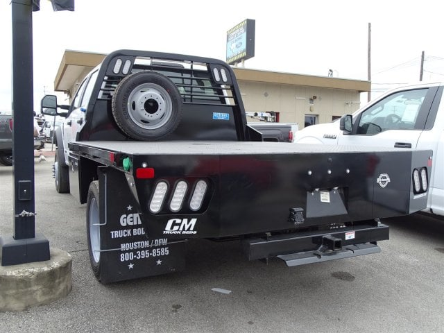2019 F-550 Crew Cab DRW 4x4,  CM Truck Beds Platform Body #TED03450 - photo 4