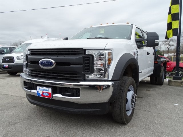 2019 F-550 Crew Cab DRW 4x4,  CM Truck Beds Platform Body #TED03450 - photo 5