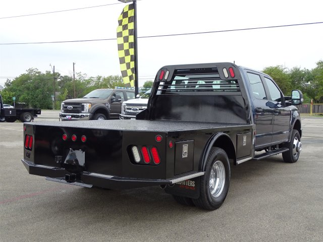 2017 F-350 Crew Cab DRW 4x4, CM Truck Beds Flatbed #TED17263 - photo 2