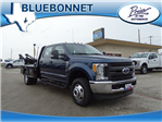 2017 F-350 Crew Cab DRW 4x4, CM Truck Beds Flatbed #TED17263 - photo 1
