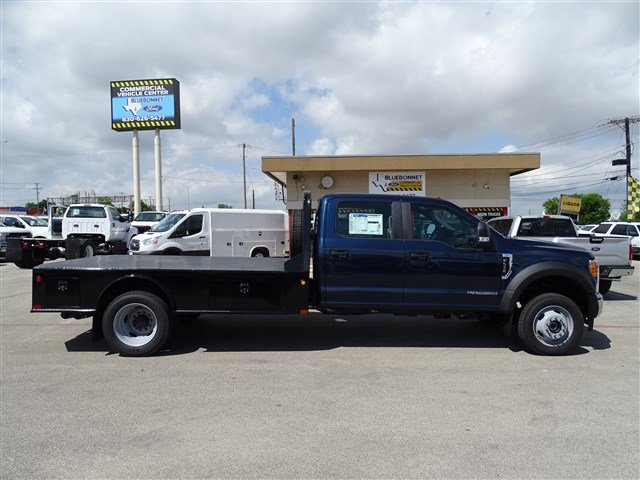 2017 F-550 Crew Cab DRW 4x4, CM Truck Beds Flatbed #TED17268 - photo 4