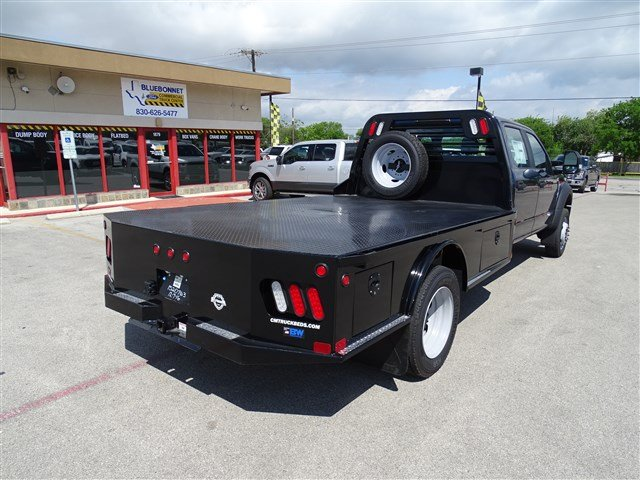 2017 F-550 Crew Cab DRW 4x4, CM Truck Beds Flatbed #TED17268 - photo 2