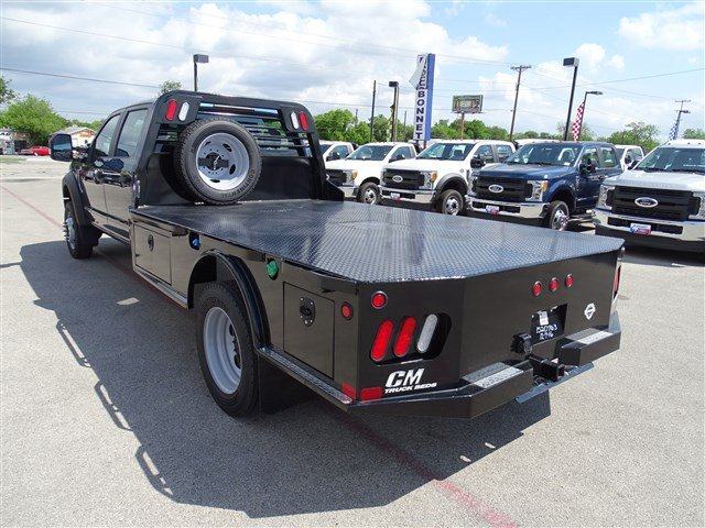 2017 F-550 Crew Cab DRW 4x4, CM Truck Beds Flatbed #TED17268 - photo 6
