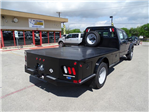 2017 F-550 Crew Cab DRW 4x4, CM Truck Beds Flatbed #TED17268 - photo 1