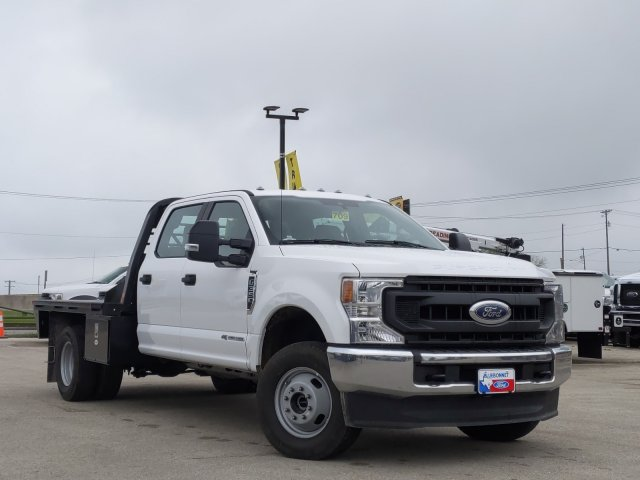 2020 Ford F-350 Crew Cab DRW 4x4, CM Truck Beds RD Model Flatbed #TED17837 - photo 1