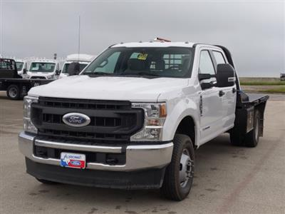 2020 Ford F-350 Crew Cab DRW 4x4, CM Truck Beds RD Model Flatbed #TED17837 - photo 10