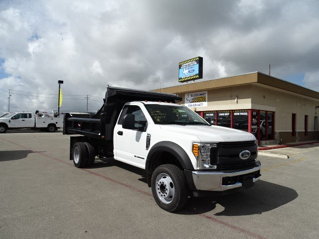 2017 F-550 Regular Cab DRW, Rugby Dump Body #TED19895 - photo 3