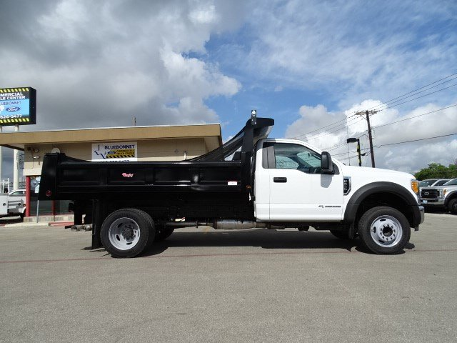 2017 F-550 Regular Cab DRW, Rugby Dump Body #TED19895 - photo 4