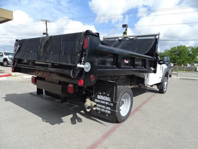 2017 F-550 Regular Cab DRW, Rugby Dump Body #TED19895 - photo 2