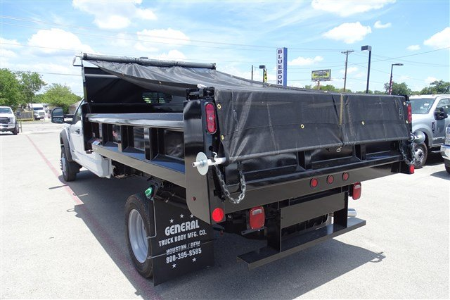 2017 F-550 Crew Cab DRW 4x4, Rugby Eliminator LP Steel Dump Body #TED19904 - photo 6