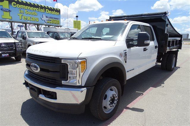 2017 F-550 Crew Cab DRW 4x4, Rugby Eliminator LP Steel Dump Body #TED19904 - photo 8