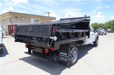 2017 F-550 Crew Cab DRW 4x4, Rugby Eliminator LP Steel Dump Body #TED19904 - photo 2