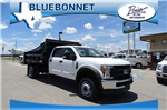 2017 F-550 Crew Cab DRW 4x4, Rugby Eliminator LP Steel Dump Body #TED19904 - photo 1