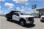 2017 F-550 Crew Cab DRW 4x4, Rugby Eliminator LP Steel Dump Body #TED19904 - photo 3
