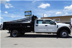 2017 F-550 Crew Cab DRW 4x4, Rugby Eliminator LP Steel Dump Body #TED19904 - photo 4