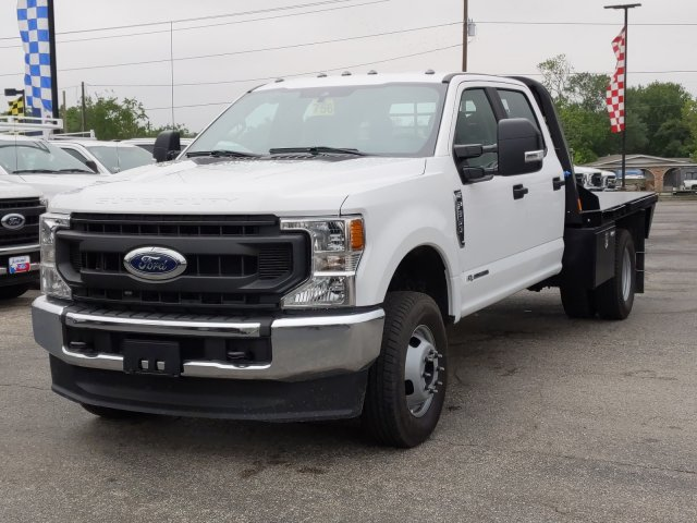 2020 Ford F-350 Crew Cab DRW 4x4, CM Truck Beds RD Model Flatbed #TED25105 - photo 9