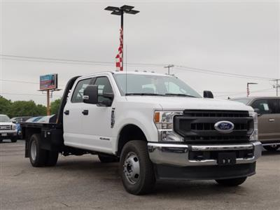 2020 Ford F-350 Crew Cab DRW 4x4, CM Truck Beds RD Model Flatbed #TED25105 - photo 1