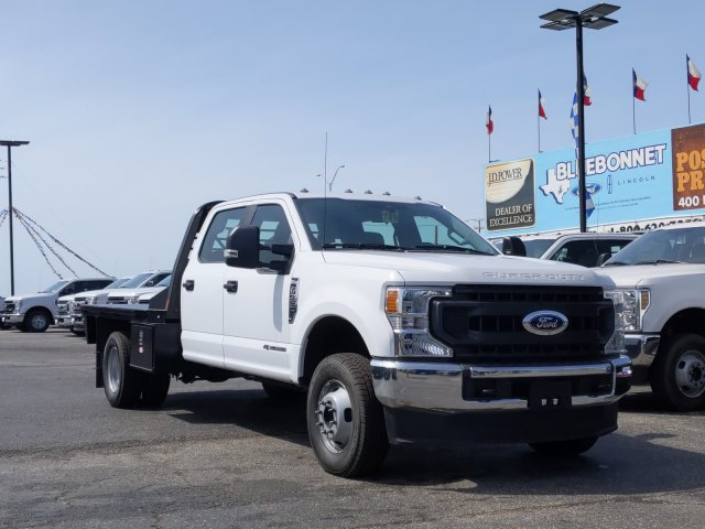 2020 Ford F-350 Crew Cab DRW 4x4, CM Truck Beds RD Model Flatbed #TED25106 - photo 1