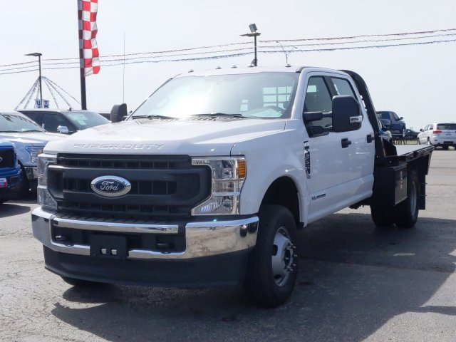 2020 Ford F-350 Crew Cab DRW 4x4, CM Truck Beds RD Model Flatbed #TED25106 - photo 8