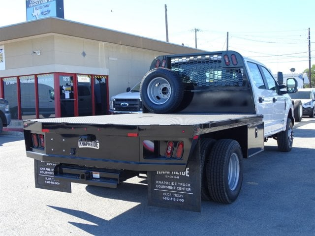 2019 F-350 Crew Cab DRW 4x4,  Knapheide Flatbed #TED27233 - photo 2