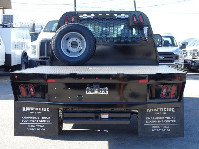 2019 F-350 Crew Cab DRW 4x4,  Knapheide Flatbed #TED27233 - photo 3