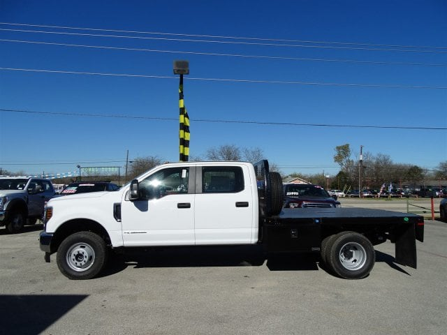2019 F-350 Crew Cab DRW 4x4,  Knapheide Flatbed #TED27233 - photo 5