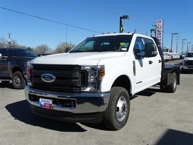 2019 F-350 Crew Cab DRW 4x4,  Knapheide Flatbed #TED27233 - photo 6