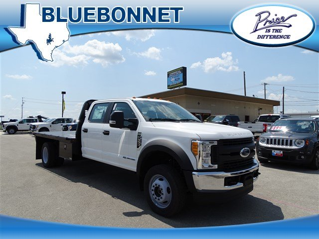 2017 F-550 Crew Cab DRW 4x4, Flatbed #TED32722 - photo 1