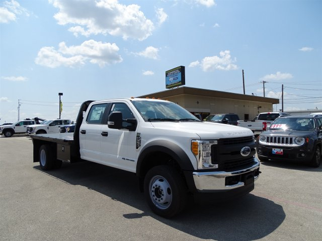 2017 F-550 Crew Cab DRW 4x4, Flatbed #TED32722 - photo 3